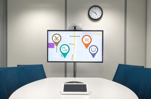 Iconen in een presentatie
