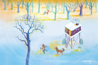 Kerstkaart 'Winter'