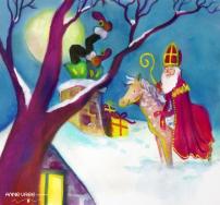 Sinterklaas tekening