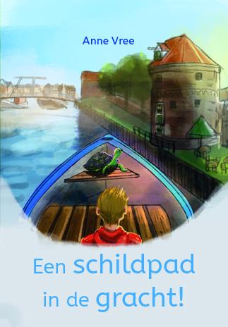Een schildpad in de gracht zwolle kinderboek prentenboek